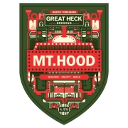 Mount Hood 4.5% by Great Heck Brewing