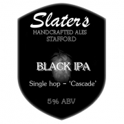 Black IPA 5.0% by Slaters Brewery