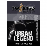Urban Legend 4.3% by Twisted Brewery