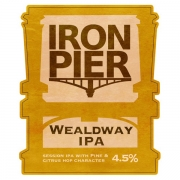 Wealdway IPA by Iron Pier ABV 4.5%