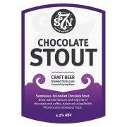 Chocolate Stout 4.3% by Severn Brewing