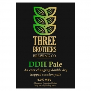 DDH Pale 4.0% by Three Brothers