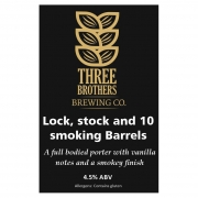 Lock, stock and 10 smoking barrels 4.5% by Three Brothers