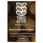 Smoked Bourbon 5.8% by Three Brothers