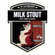 Milk Stout 4.6% by Fat Cat