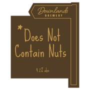 Does Not Contain Nuts 4.2% by Downlands Brewery