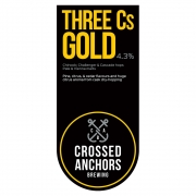 Three Cs Gold 4.3% by Crossed Anchors
