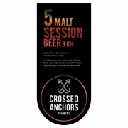 5 Malt Session 3.8% by Crossed Anchors