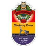 Blueberry Porter 4.1% by Muirhouse Brewery