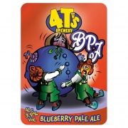 Blueberry Pale Ale 3.9% by 4Ts