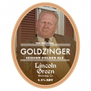 Goldzinger 4.5% by Lincoln Green Brewery