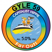 Capitalist Hippie - Far out! 5.0% by Gyle 59