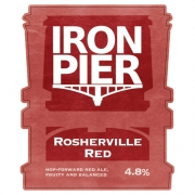 Rosherville Red 4.8% by Iron Pier