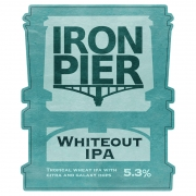 Whiteout IPA 5.3% by Iron Pier