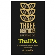 ThaIPA 4.1% by Three Brothers
