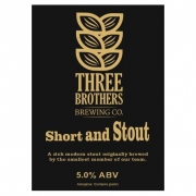 Short and Stout 5.0% by Three Brothers
