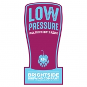 Low Pressure Blonde 4.0% by Brightside