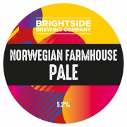 Norwegian Farmhouse Pale 5.2% by Brightside