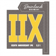 IIX 5.3% by Downlands Brewery