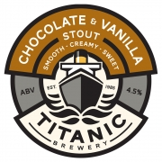 Chocolate & Vanilla Stout 4.5% by Titanic