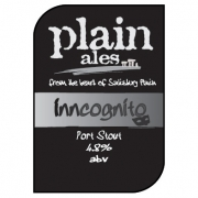 Inncognito 4.8% by Plain Ales