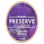 Preserve 4.7% by Lincoln Green Brewery