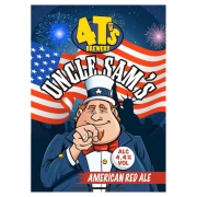 Uncle Sam's by 4Ts ABV 4.4%