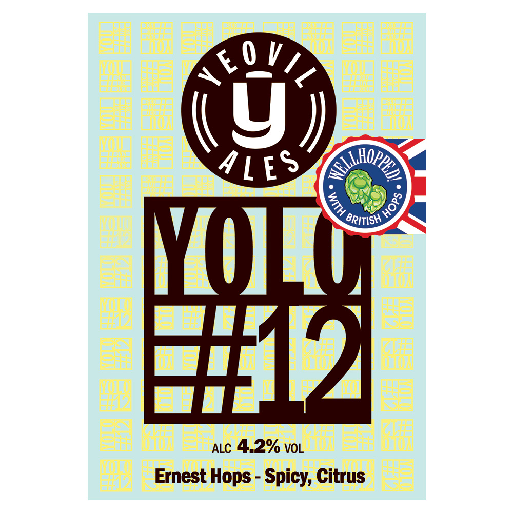 YOLO#12 from Yeovil Ales - Yeovil Ales Brewery