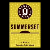 Summerset Bright Cask Beer Firkin