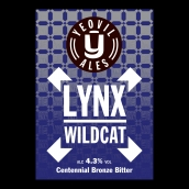 Lynx Wildcat Bright Cask Beer Firkin