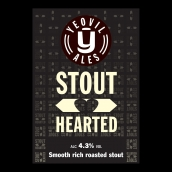 Stout Hearted Bright Cask Beer Firkin