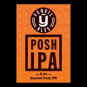 POSH IPA Bright Cask Beer Firkin