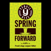 Spring Forward Bright Cask Beer Firkin
