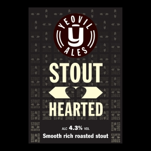 Stout Hearted 30L One Way Keg