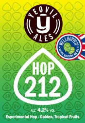 New experimental 'Hop' range beer available. Don't miss out!