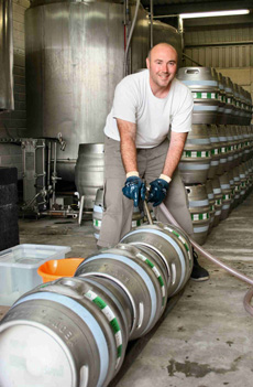 Rob Cleaning Barrels